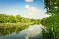 Река Dnipro Стоковые Изображения RF