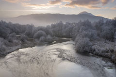 Река Dochart Стоковые Изображения RF