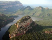 река drakensberg каньона blyde Африки южное Стоковое фото RF