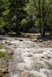 Река Dryanovska речных порогов в Болгарии Стоковые Фотографии RF