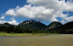Река Dunajec стоковое изображение rf