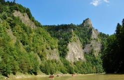 Река Dunajec стоковые изображения