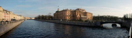 река fontanka стоковое фото rf
