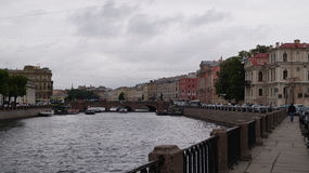 Река Fontanka Стоковое Изображение RF