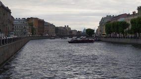 Река Fontanka Стоковое Фото