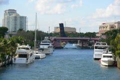 Река Fort Lauderdale новое стоковое изображение