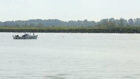 Река Fraser, рыбная ловля Gillnetter Salmon видеоматериал