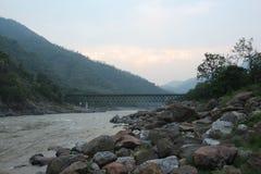 Река Ganga Стоковое Изображение
