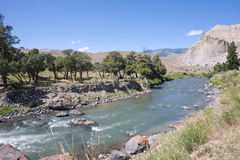 Река Gardiner Стоковые Изображения