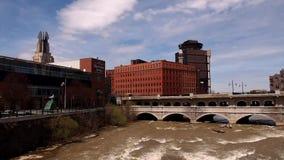 Река Genesee сток-видео
