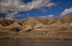 река gorge columbia Стоковая Фотография RF
