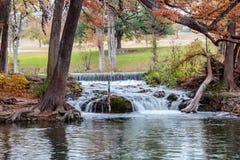 Река Guadalupe в Ingram Техасе Стоковые Фото