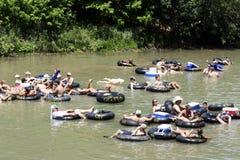 река guadalupe Стоковое фото RF