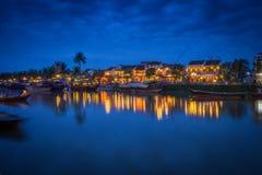 Река Hoi Hoai Стоковые Изображения RF