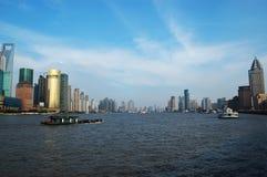 река huangpu Стоковое Фото