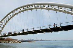 река humber моста Стоковое фото RF