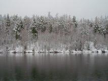 Река Ilim в восточном Сибире Стоковые Фотографии RF