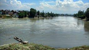 Река Jehlum Стоковые Изображения RF