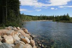 река kananaskis Стоковое Изображение RF