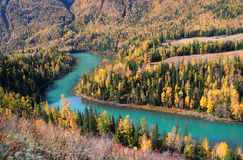 река kanas Стоковая Фотография