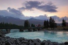 река kanas Стоковое Изображение