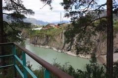 Река Katun Стоковые Фото
