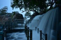 Река Kaveri в Dharmapuri стоковое фото rf
