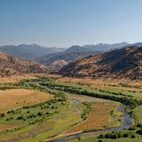 Река Kaweah Стоковые Фото