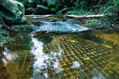Река Kbal Spean тысячи висков Lingas Angkor стоковые изображения rf