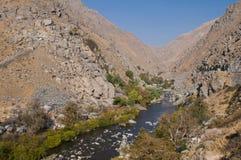 река kern Стоковая Фотография RF