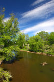 река kishwaukee illinois Стоковые Фото