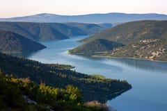река krka Стоковая Фотография RF