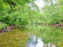 Река 19 Krutynia Стоковые Фотографии RF