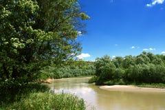 река kuban Стоковые Фотографии RF