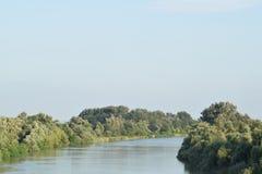 река kuban Стоковое Изображение