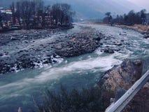 Река Kullu стоковое фото rf