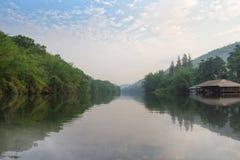 Река Kwai или река Sawat псевдонима Стоковые Фото