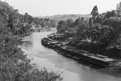 Река Kwai Стоковая Фотография