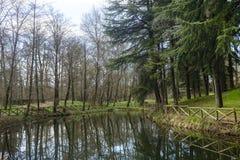 Парк Монцы Стоковая Фотография