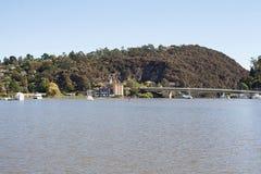 Река Launceston Tamar Стоковые Изображения RF