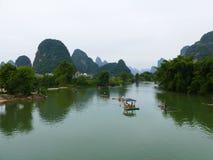 Река Lijiang Стоковые Фото