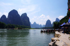 Река Lijiang стоковая фотография rf