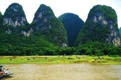река lijiang guilin фарфора Стоковые Фото