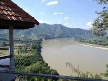 Река Maekong стоковое изображение rf