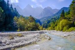 Река Martuljek Стоковое фото RF