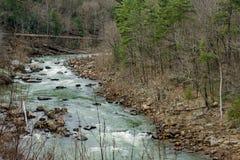 Река Maury, Вирджиния, США стоковые изображения rf