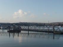 Река Medway, Rochester, Кент, Великобритания стоковая фотография