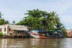 река mekong Вьетнам перепада Стоковая Фотография RF