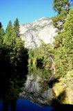 Река Merced на Yosemite Стоковые Фотографии RF