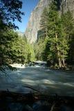 река merced скалой стоковые изображения rf